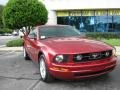 2007 Redfire Metallic Ford Mustang V6 Premium Coupe  photo #9