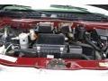 2002 Dark Carmine Red Metallic Chevrolet Astro LT AWD  photo #16