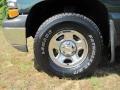 2002 Forest Green Metallic Chevrolet Silverado 1500 Extended Cab 4x4  photo #7