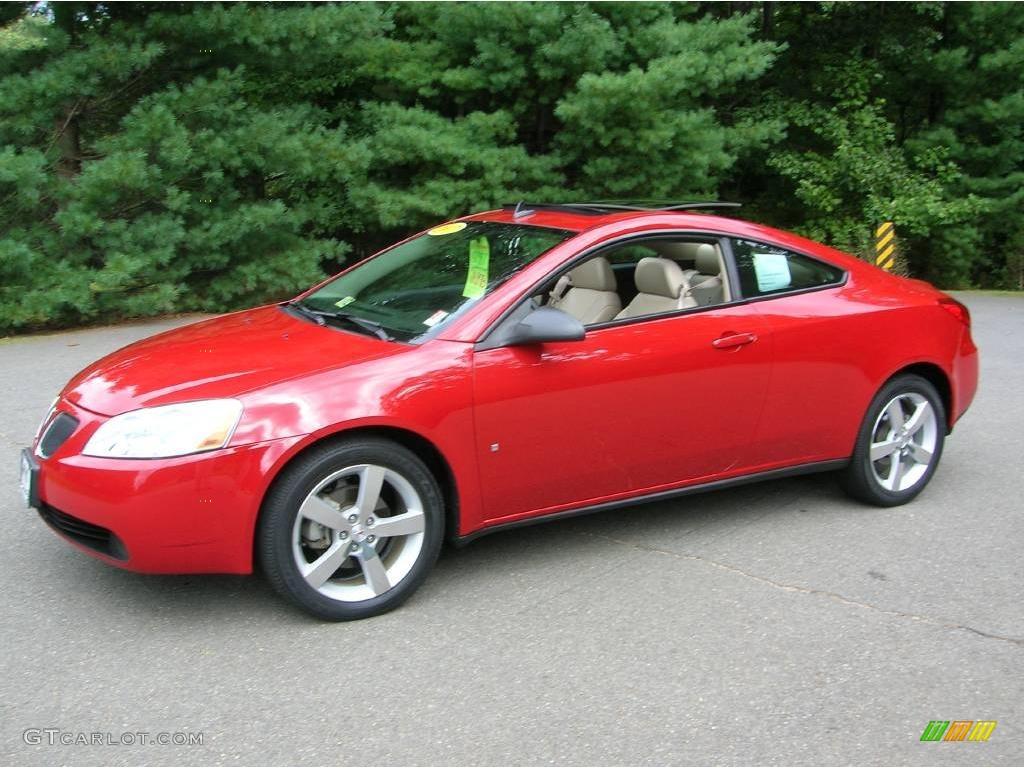 2007 Crimson Red Pontiac G6 Gtp Coupe 17903165 Gtcarlot