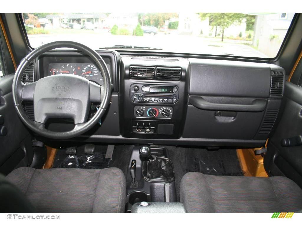 2003 Inca Gold Metallic Jeep Wrangler Sport 4x4 17898443 Photo 16 Car Color