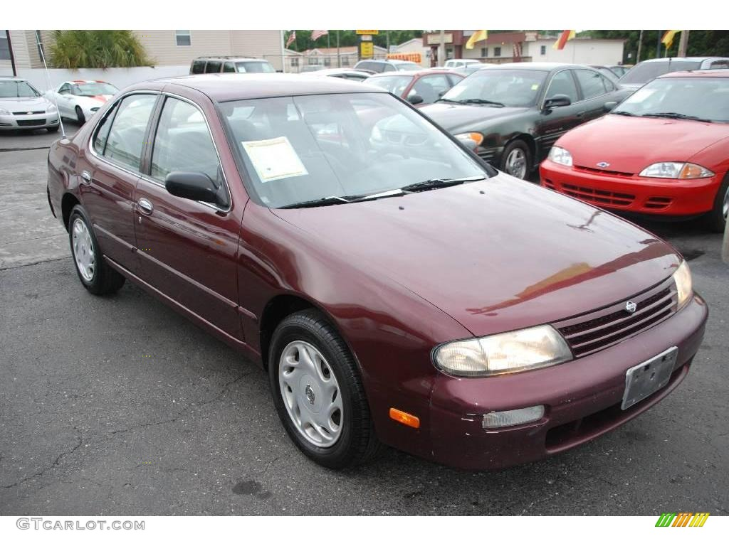 1997 Garnet Red Pearl Nissan Altima Gxe 17899464 Photo 6