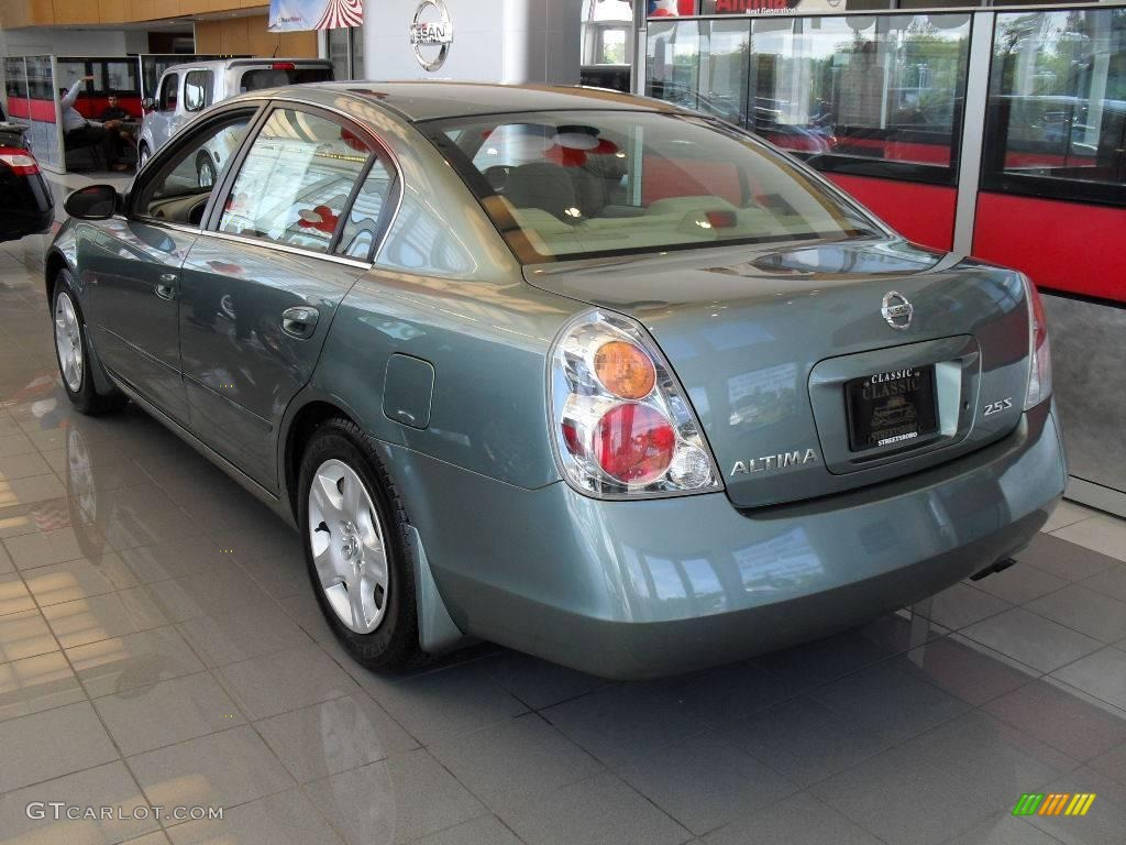 High Quality 2003 Altima 2.5 S   Mystic Emerald Green / Blond Photo #2