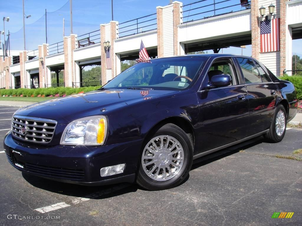 2003 blue onyx cadillac deville dhs 17967408 gtcarlot com car color galleries gtcarlot com