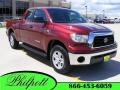 2009 Salsa Red Pearl Toyota Tundra SR5 Double Cab  photo #1