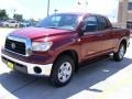 2009 Salsa Red Pearl Toyota Tundra SR5 Double Cab  photo #7