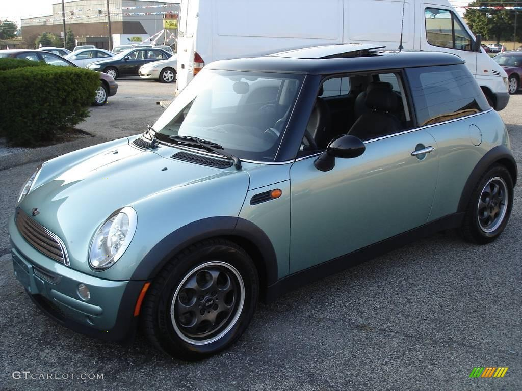2002 silk green metallic mini cooper hardtop 17965932 car color galleries. Black Bedroom Furniture Sets. Home Design Ideas