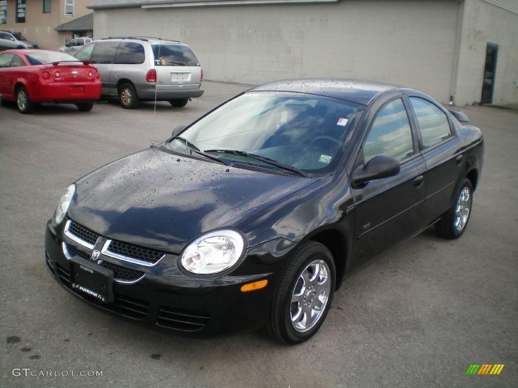 2005 black dodge neon sxt #17956252 | gtcarlot - car color