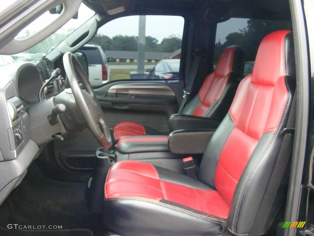 2007 ford f250 outlaw interior