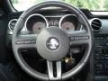 2007 Ford Mustang Black Leather Interior Steering Wheel Photo