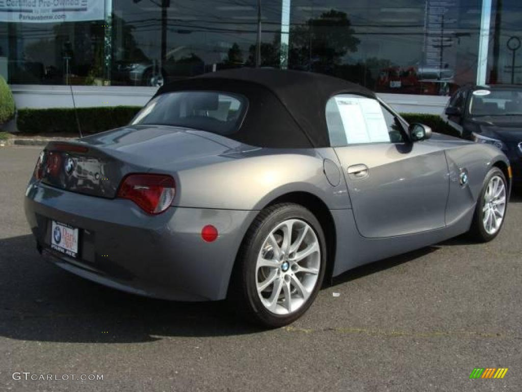 2007 Stratus Grey Metallic BMW Z4 3.0i Roadster #18024485 ...