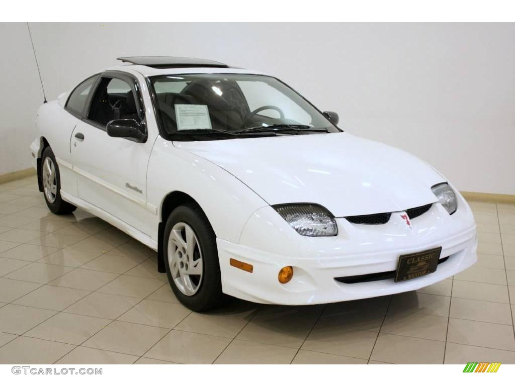 2002 arctic white pontiac sunfire se coupe 18039001. Black Bedroom Furniture Sets. Home Design Ideas