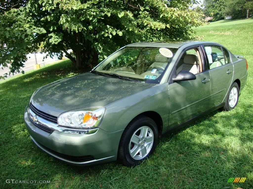 Silver Green Metallic Chevrolet Malibu