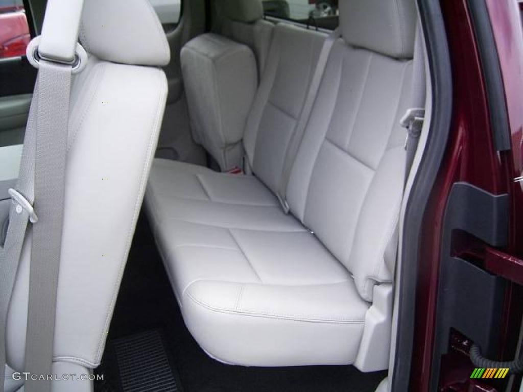 2009 Silverado 1500 LT Extended Cab - Deep Ruby Red Metallic / Light Titanium photo #10