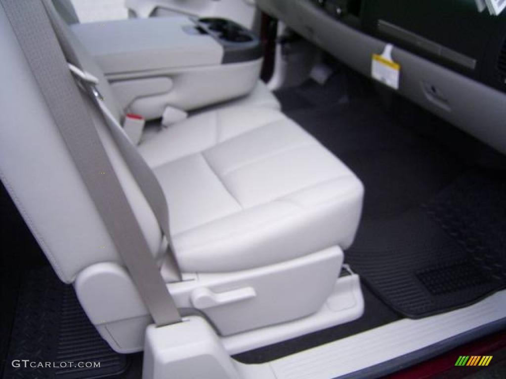 2009 Silverado 1500 LT Extended Cab - Deep Ruby Red Metallic / Light Titanium photo #13