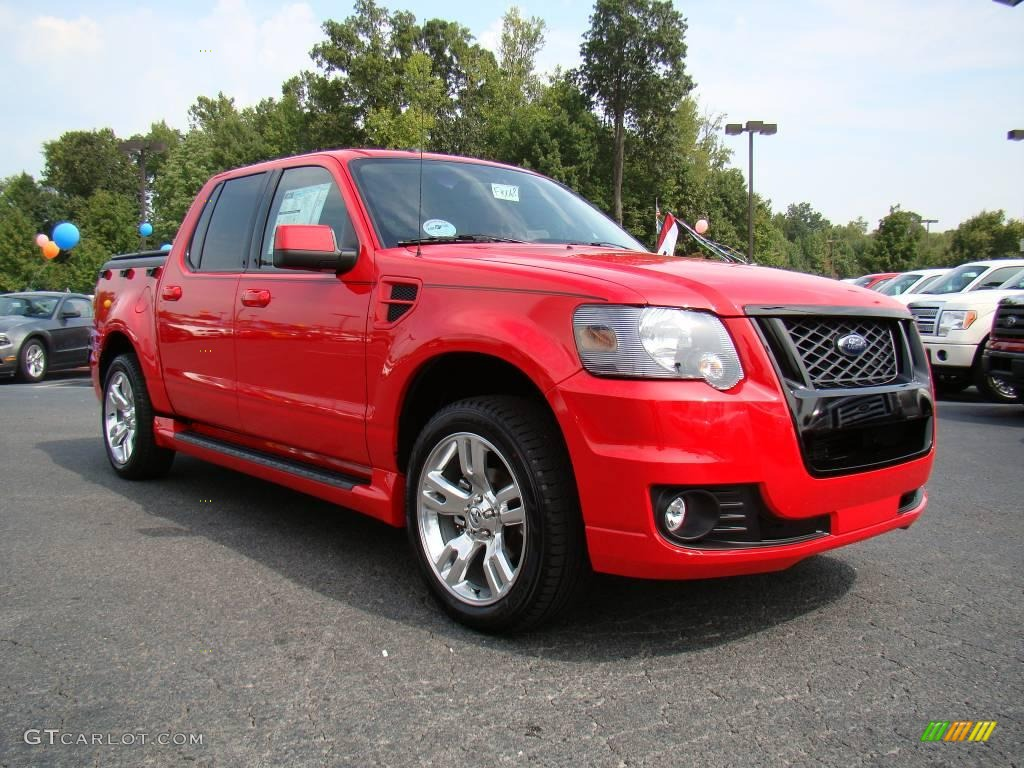 2010 Torch Red Ford Explorer Sport Trac Adrenalin ...