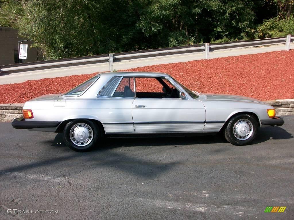 1975 astro silver metallic mercedes benz sl class 450 slc for Mercedes benz 450 slc