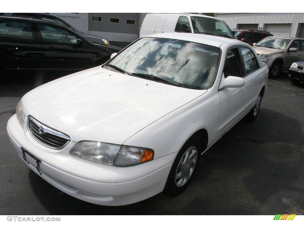 1998 Glacier White Mazda 626 Lx 18040095 Photo 3 2002 Gray