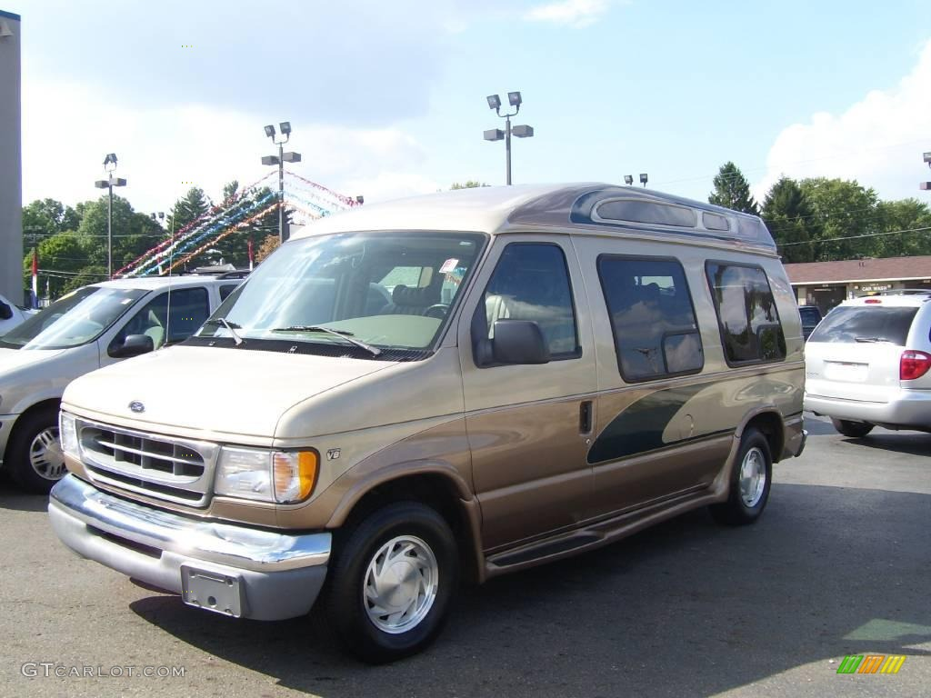 2000 harvest gold metallic ford e series van e150. Black Bedroom Furniture Sets. Home Design Ideas