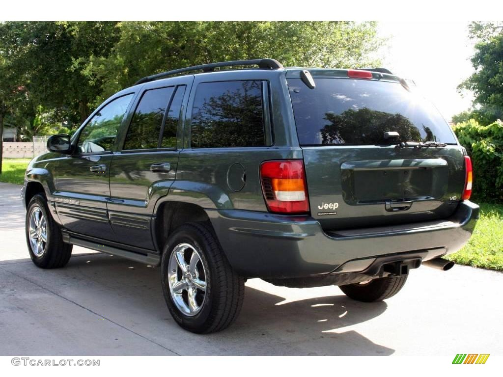 2002 onyx green pearlcoat jeep grand cherokee overland 4x4. Black Bedroom Furniture Sets. Home Design Ideas