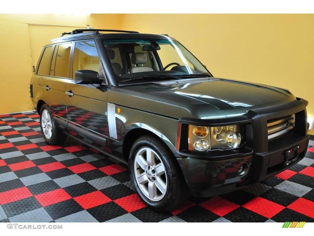 2005 Range Rover HSE - Tonga Green Pearl / Sand/Jet photo #1