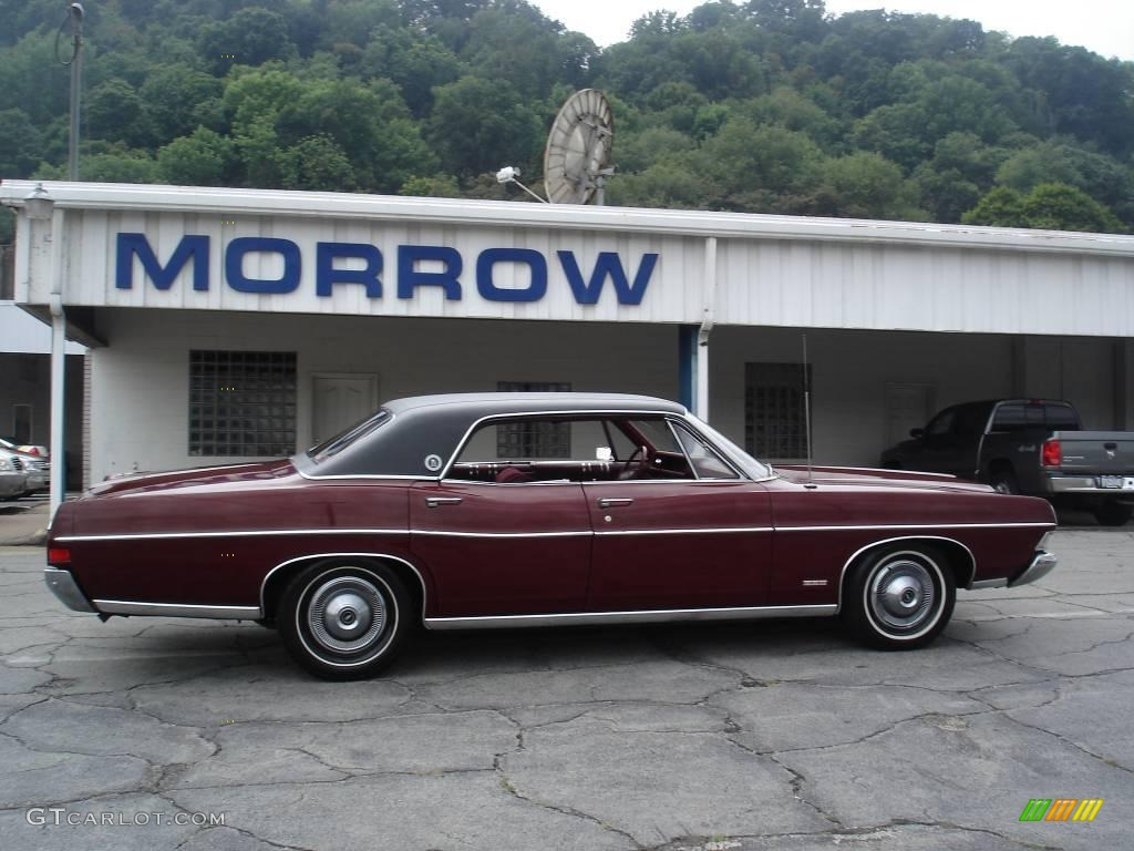 1968 ford ltd sedan royal maroon color maroon interior 1968 ltd colors