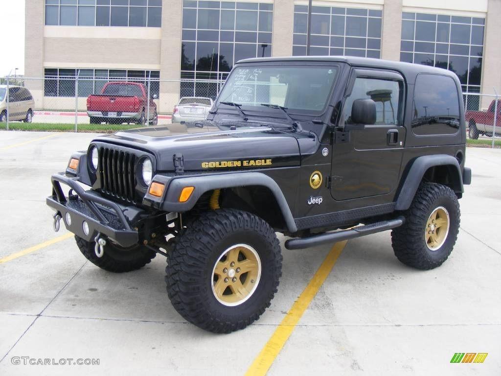 2006 black jeep wrangler sport 4x4 golden eagle 18032255 photo 7 car color. Black Bedroom Furniture Sets. Home Design Ideas