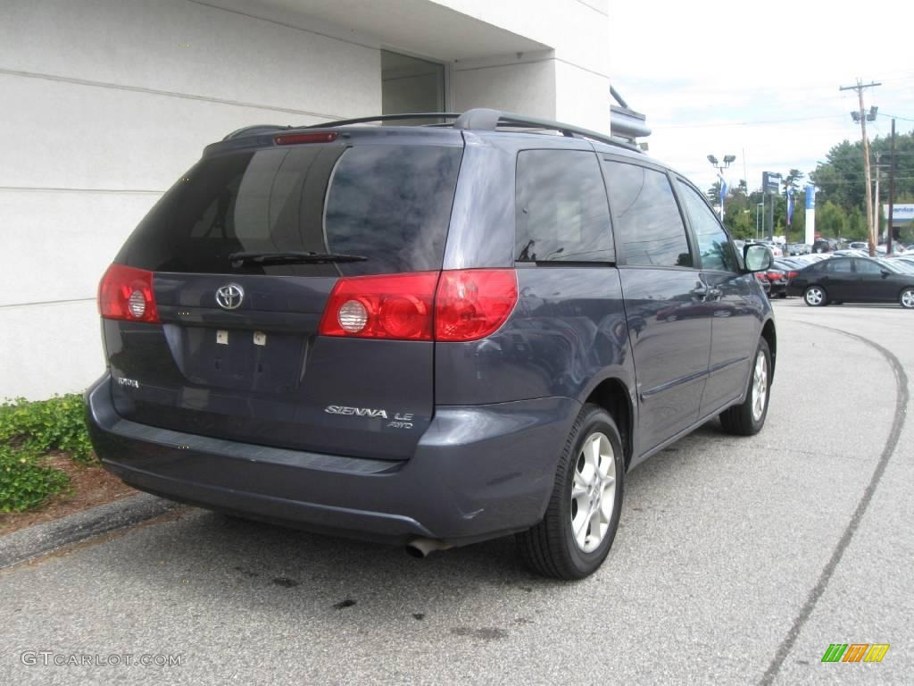 2006 slate metallic toyota sienna le awd 18106920 photo 3 car color galleries. Black Bedroom Furniture Sets. Home Design Ideas