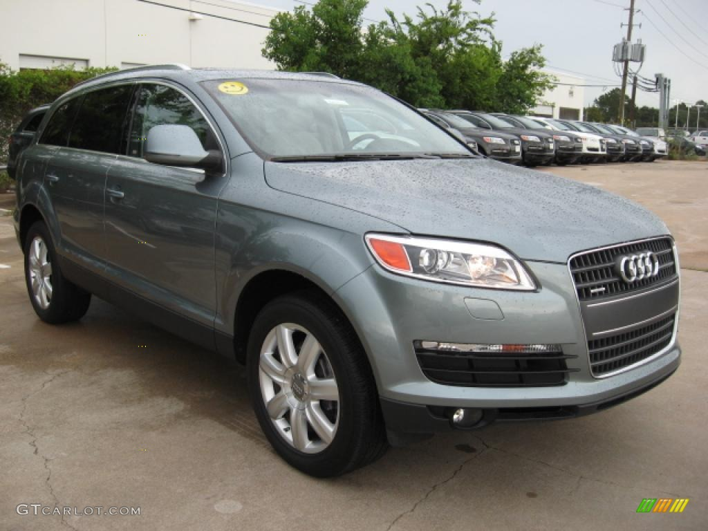 2007 quartz grey metallic audi q7 3 6 premium quattro 1803027 photo 2 car. Black Bedroom Furniture Sets. Home Design Ideas