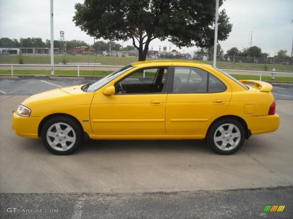 2006 Sunburst Yellow Nissan Sentra 1.8 S Special Edition #18113268