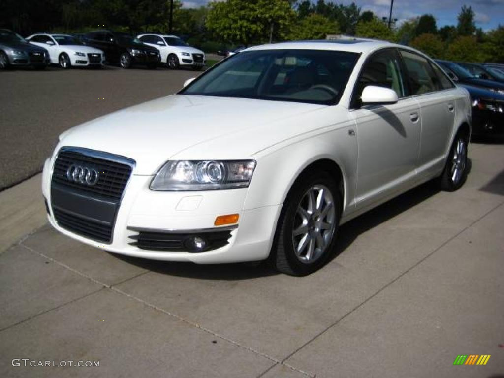 2005 arctic white audi a6 3 2 quattro sedan 18103420 photo 3 car color galleries. Black Bedroom Furniture Sets. Home Design Ideas