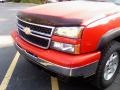 2006 Victory Red Chevrolet Silverado 1500 Z71 Extended Cab 4x4  photo #14