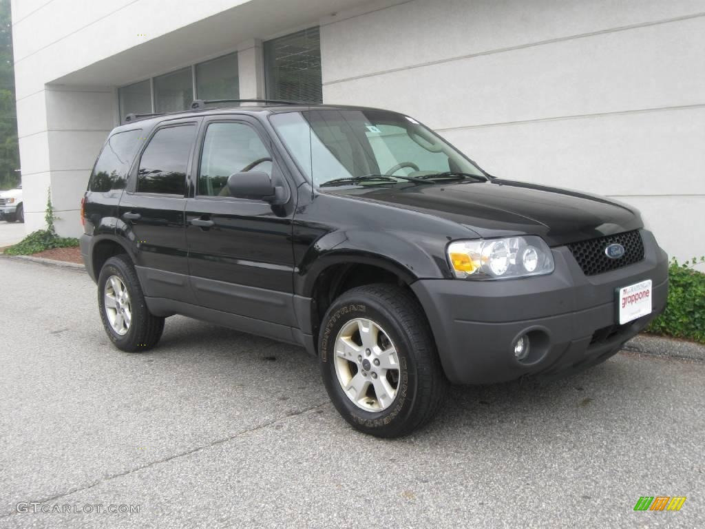2006 black ford escape xlt v6 4wd 18106936 gtcarlot com car color