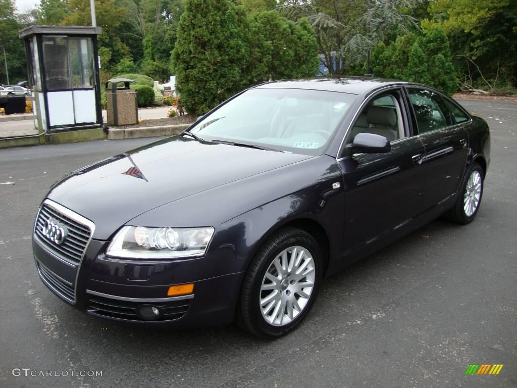 2007 daytona grey pearl audi a6 3 2 quattro sedan. Black Bedroom Furniture Sets. Home Design Ideas