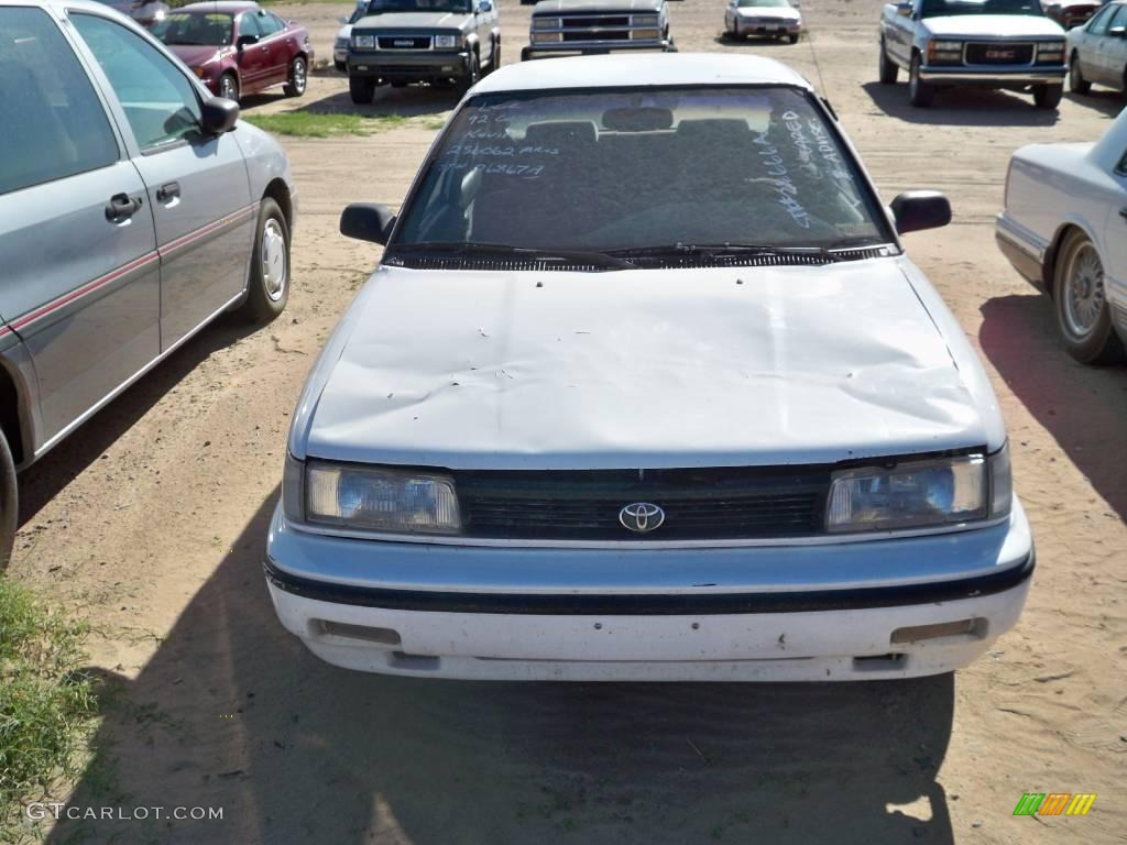 1992 super white toyota corolla dx sedan 18170881 photo. Black Bedroom Furniture Sets. Home Design Ideas