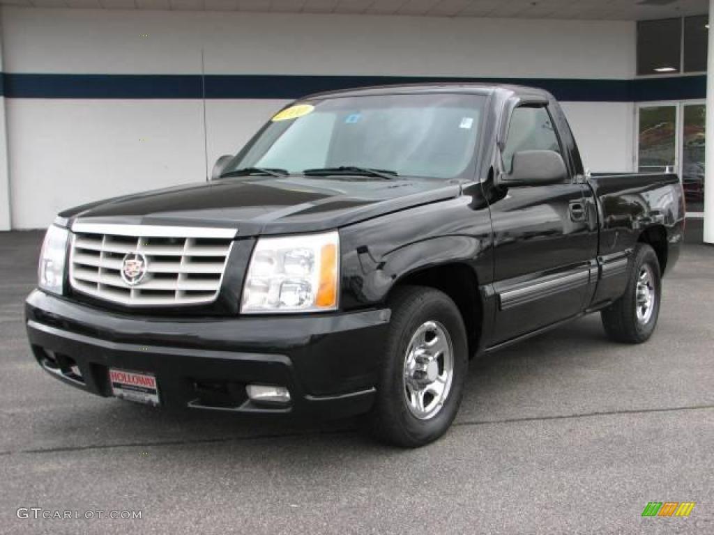 2000 Silverado 1500 LS Regular Cab - Onyx Black / Graphite photo #1