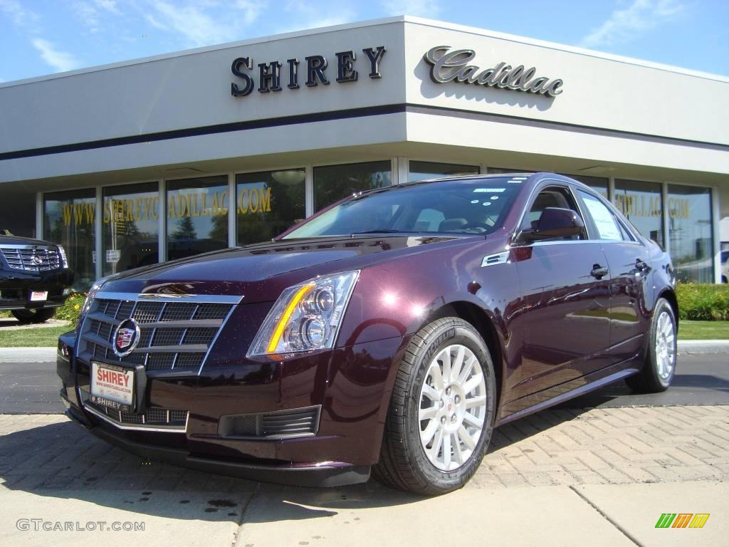 2010 black cherry cadillac cts 3 0 sedan 18160577 photo. Black Bedroom Furniture Sets. Home Design Ideas