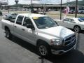 2006 Bright White Dodge Ram 1500 ST Quad Cab  photo #2
