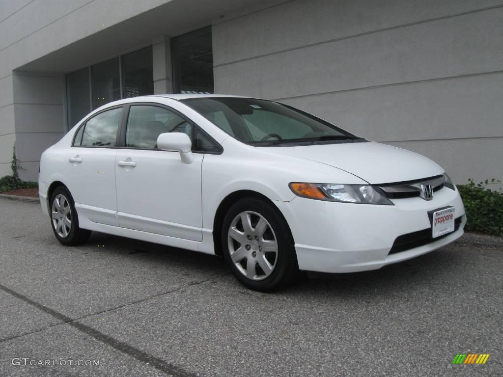 2006 taffeta white honda civic lx sedan 18167342