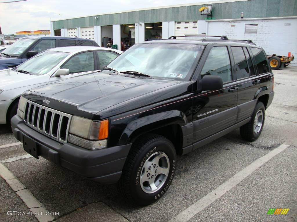 1996 black jeep grand cherokee laredo 4x4 18154430 car color galleries. Black Bedroom Furniture Sets. Home Design Ideas