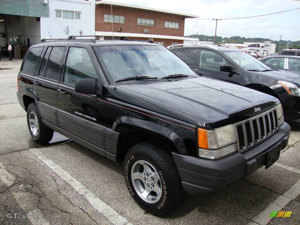 1996 black jeep grand cherokee laredo 4x4 18154430 photo 4 car color galleries. Black Bedroom Furniture Sets. Home Design Ideas