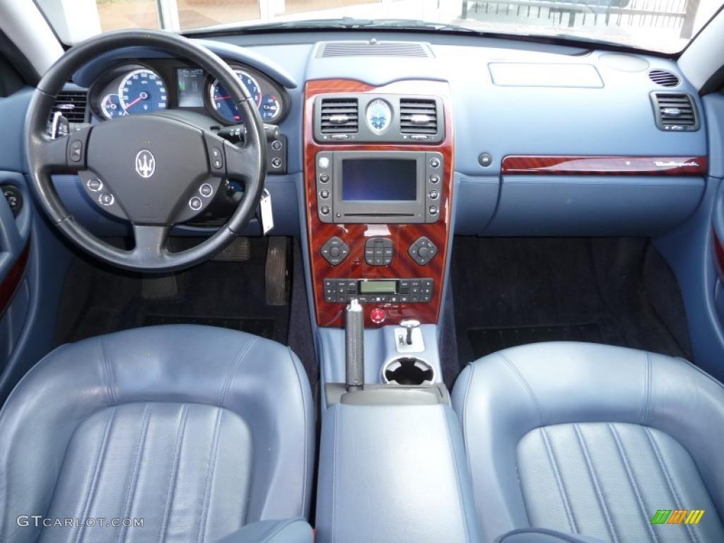 Maserati quattroporte 2005 interior for Images of interior