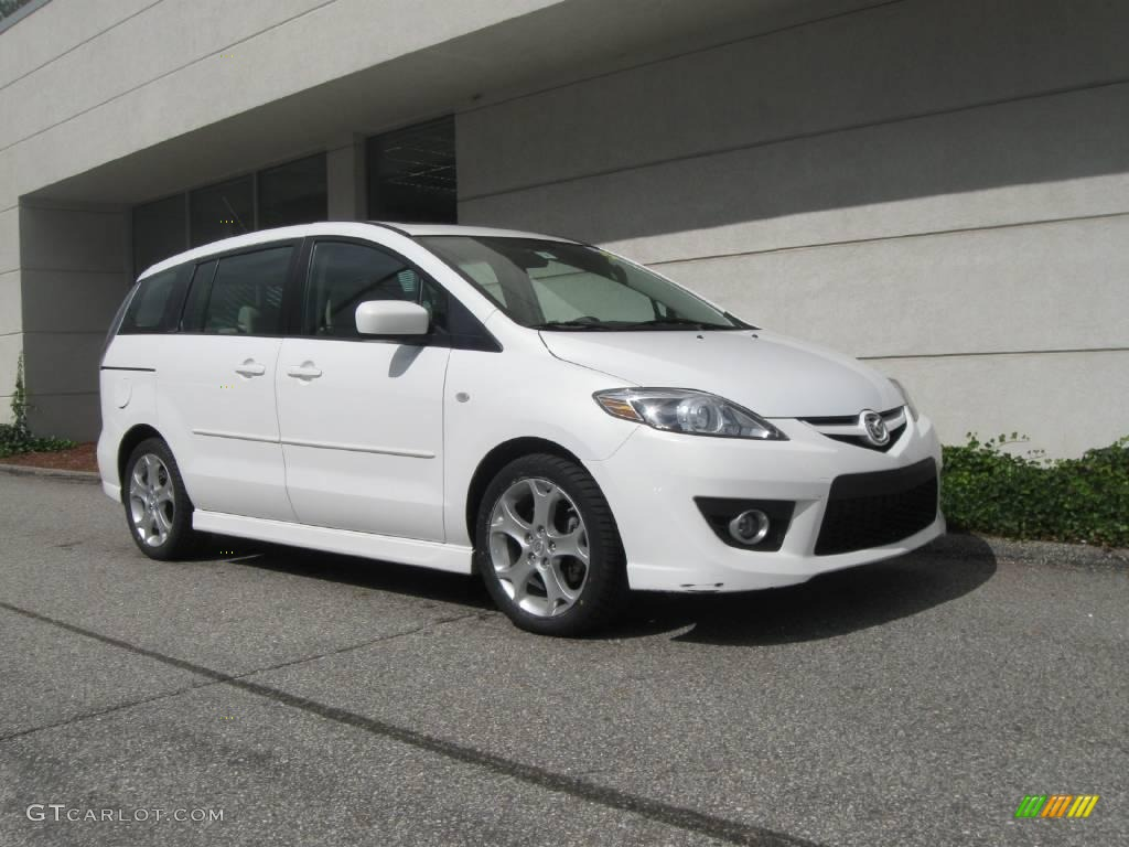 2008 Crystal White Mazda Mazda5 Sport 18167191 Gtcarlot Com Car Color Galleries