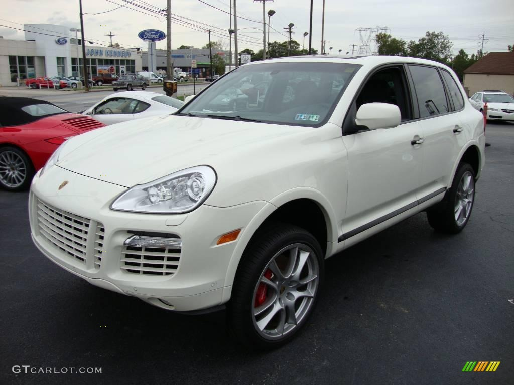 2009 sand white porsche cayenne turbo s 18154412 car color galleries. Black Bedroom Furniture Sets. Home Design Ideas