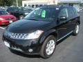 2007 Super Black Nissan Murano SL AWD  photo #1