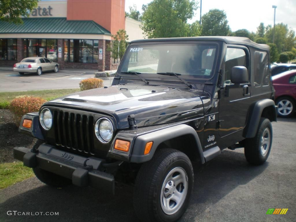 2006 Black Jeep Wrangler X 4x4 18158516