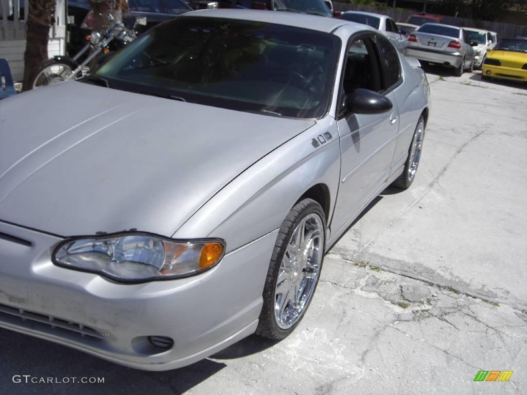 2000 Monte Carlo LS - Galaxy Silver Metallic / Ebony photo #1