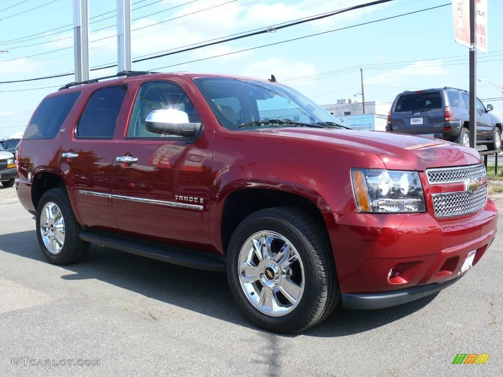 2014 Victory Red Chevy Tahoe.html | Autos Weblog
