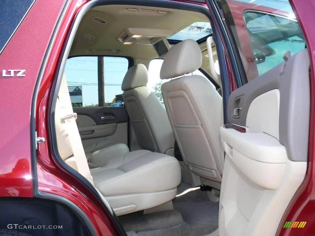 2009 Red Jewel Chevrolet Tahoe Ltz 4x4 18225572 Photo 12