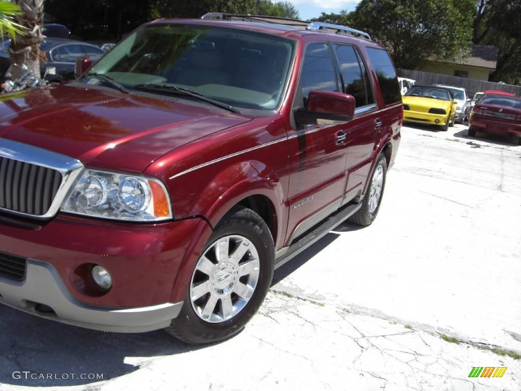 2004 merlot red metallic lincoln navigator ultimate 18236014 car color galleries. Black Bedroom Furniture Sets. Home Design Ideas